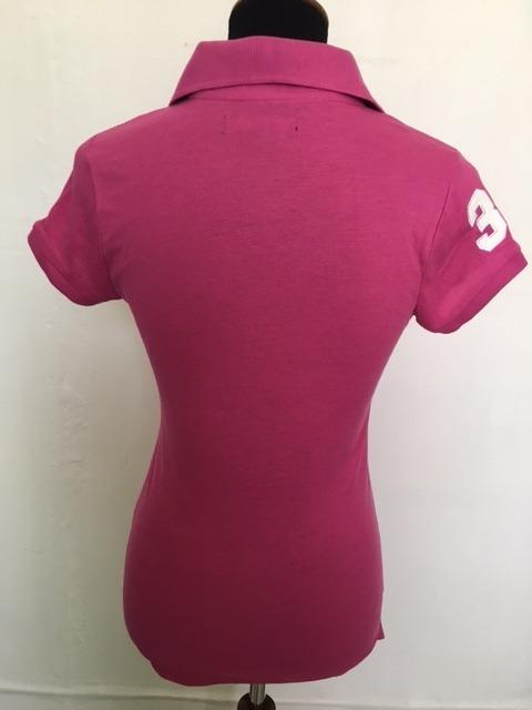 Blusa Polo Rosa -   550.00 en Mercado Libre b2bfb5ab09ad7