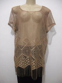 987686da6f Blusas Feminino Dourado escuro em Santa Catarina no Mercado Livre Brasil
