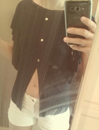 blusa preta roupa feminina