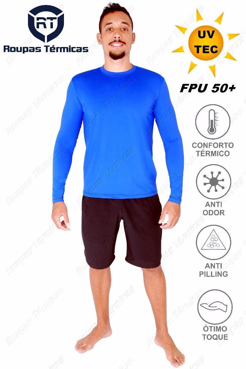 e67ca8f106 blusa proteção uv50+ para a alta exposição solar tecnologica. Carregando  zoom.