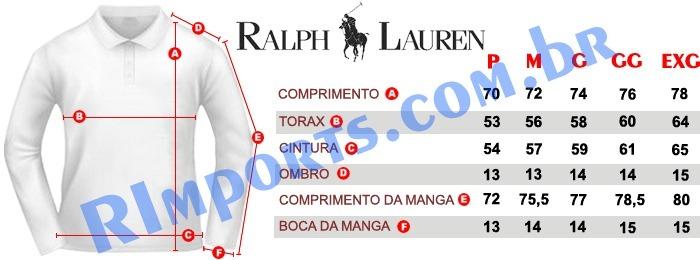 72cbb15270637 Blusa Ralph Lauren Masculina - 100% Original - S Ou P - P2 - R  249 ...