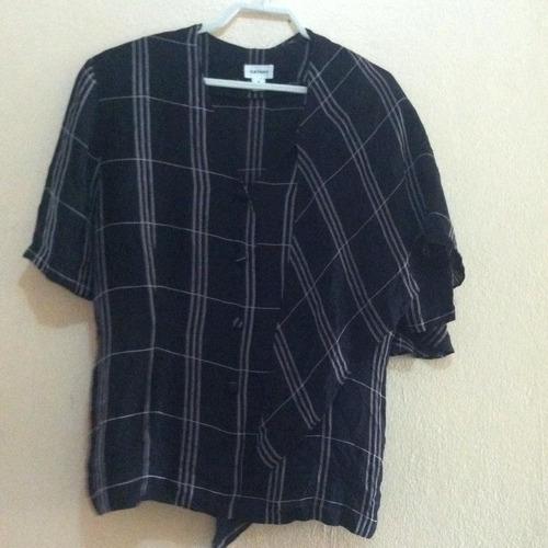 blusa rayas cathay talla 8