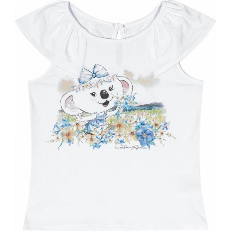 d2cf821f42 blusa regata branca bebê lilica ripilica pb mb gb 1p 2p 3p. Carregando zoom.