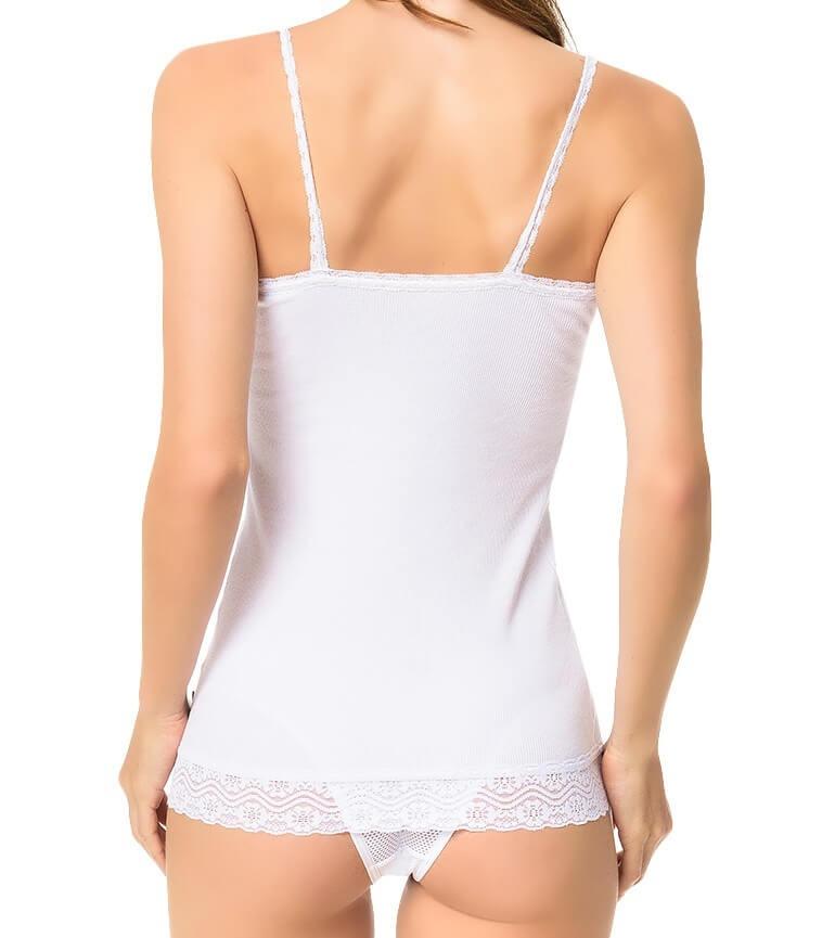 blusa regata calvin klein underwear canelada com renda in100. Carregando  zoom. cdc643a2e32