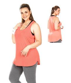 a893f9514 Regata Cavada Plus Size - Camisetas e Blusas no Mercado Livre Brasil