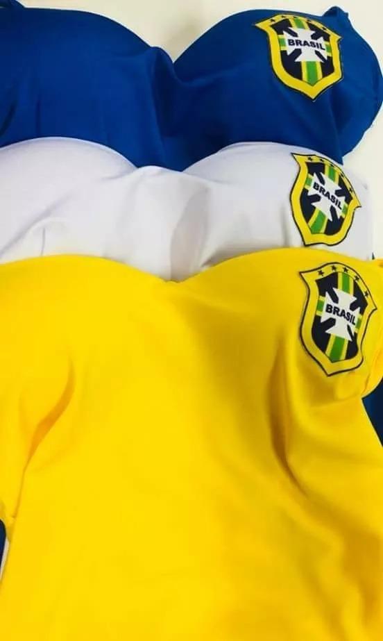 3089c19b94 blusa regata feminina copa brasil seleção brasileira. Carregando zoom.