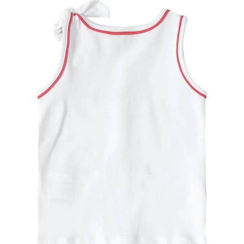 23e83507d8 Blusa Regata Lilica Ripilica Baby Branca - R  35