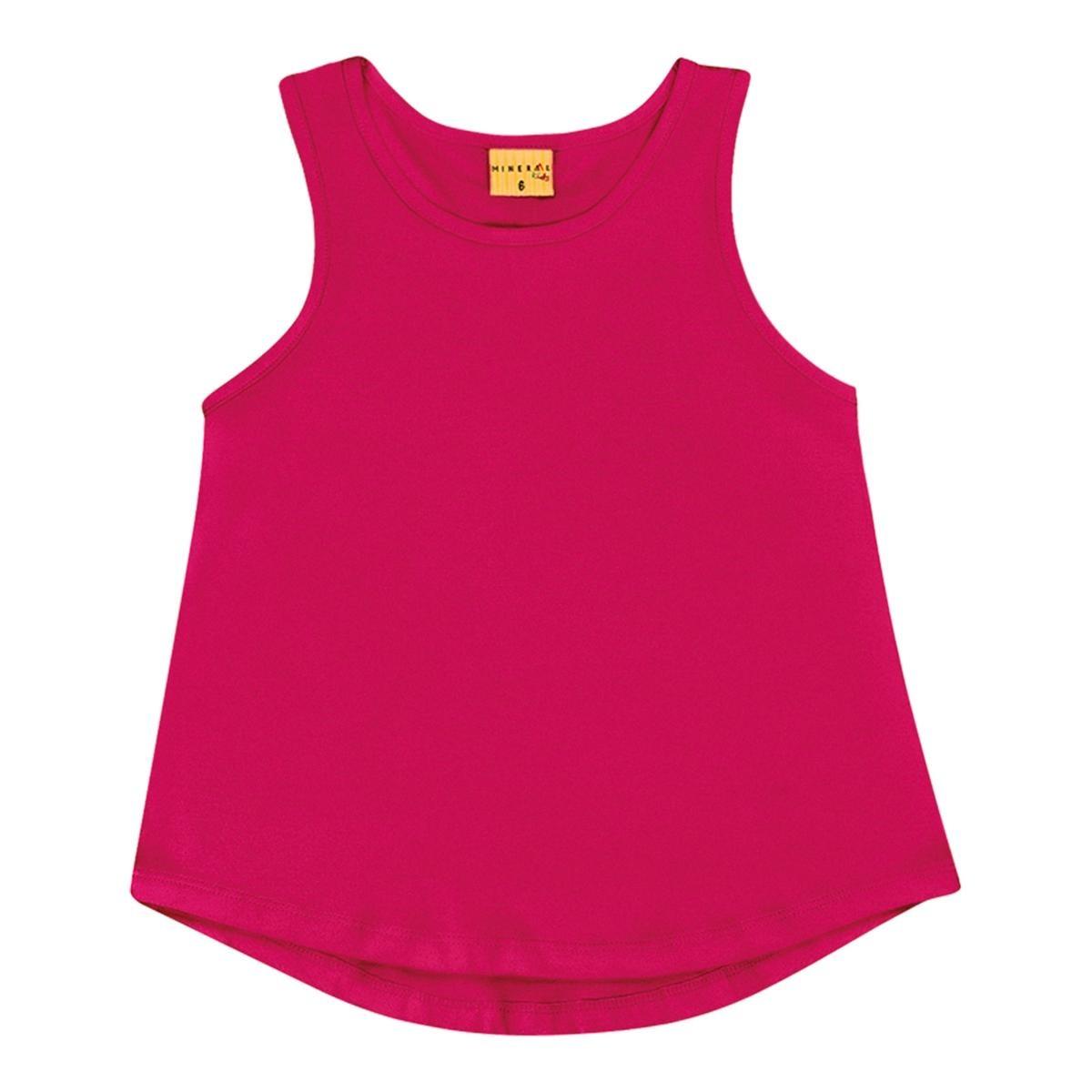 blusa regata mineral kids rosa menina. Carregando zoom. 2f7e796a89a