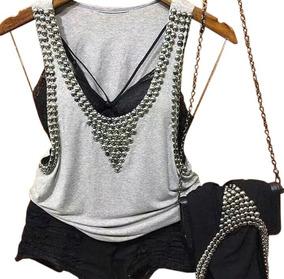 944f68682f Blusa Feminina Regata Rota Do Mar - Camisetas e Blusas no Mercado ...