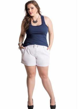 blusa regata plus size feminina ( roupa gordinha  ) azul