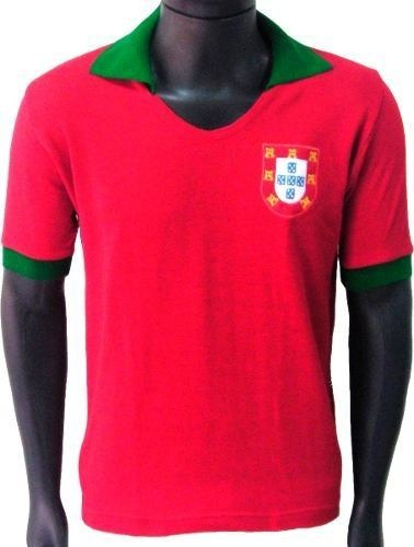 Blusa Retrô Seleção Portugal 1972 Camisa Vintage Camiseta - R  89 bc0e14c3b781e