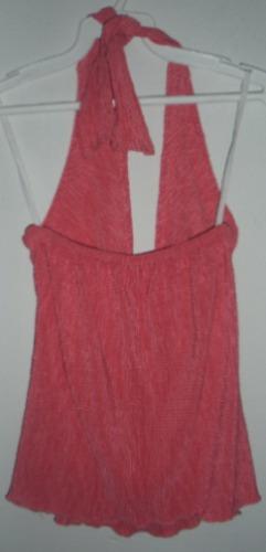 blusa rosa  straple bbf
