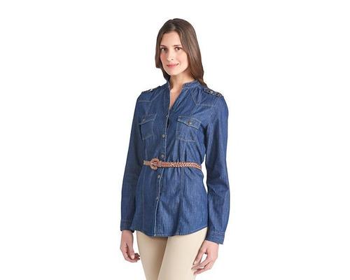 blusa sahara woman azul pr-3036912