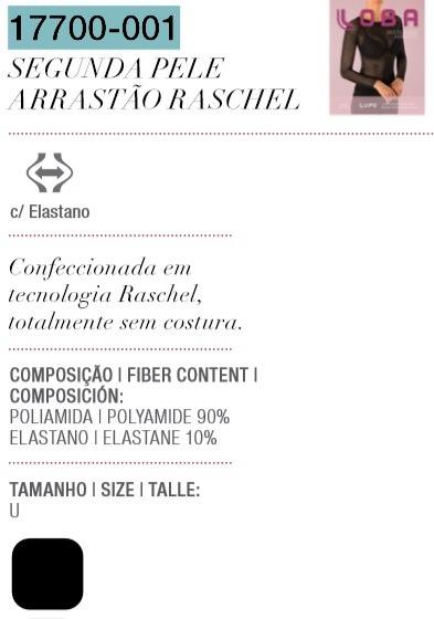Blusa Segunda Pele Arrastão Fashion Imperdível 17700-001 - R  38 394e5145da11f