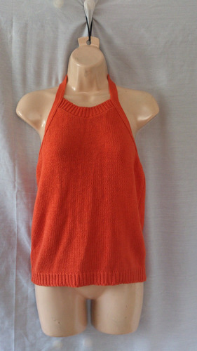 blusa sin espalda tomate americana de remate