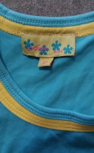 blusa sin mangas para niña