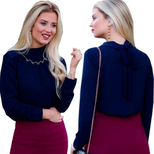 blusa social feminina roupas femininas
