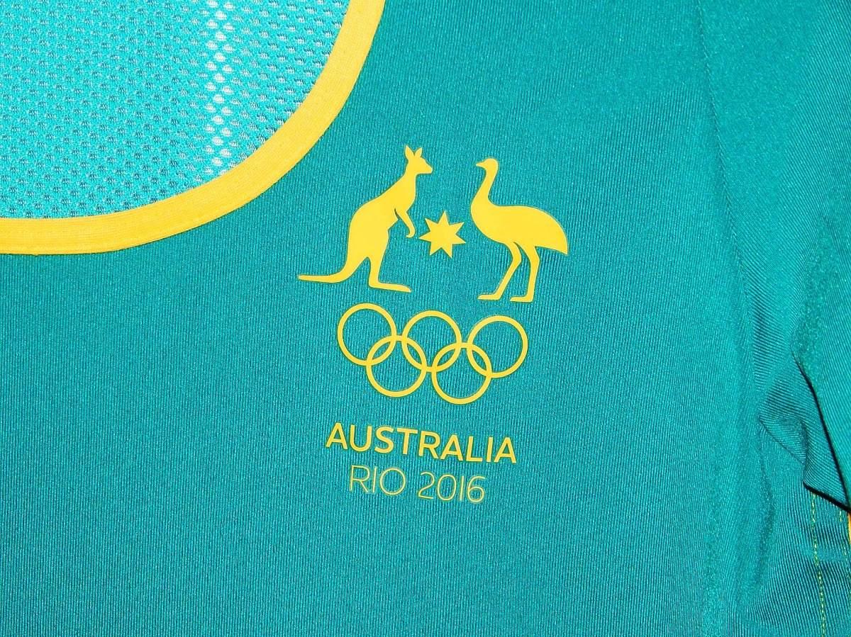 5665947dafd blusa stella mccartney adidas australia olimpíadas rio 2016. Carregando  zoom.