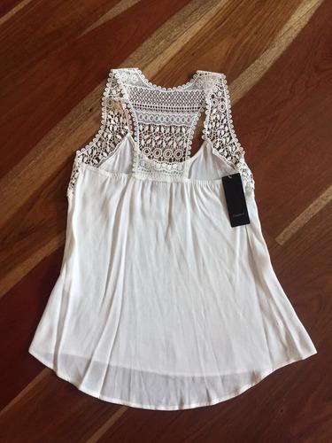 blusa studio f blanca