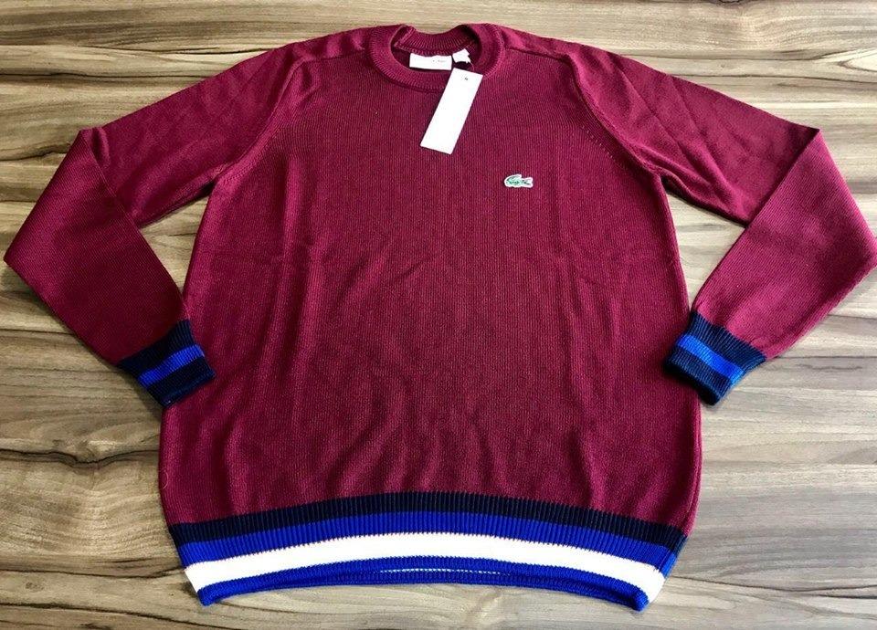 1c7593baf2c blusa sueter lacoste masculino original pronta entrega. Carregando zoom.
