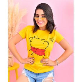 Blusa T Shirt 100% Algodão