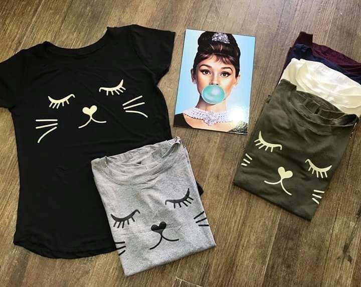 0a82fdd2f0 Blusa T Shirt Gola Chocker Atacado 10 Pcs Feminina Promoção - R  135 ...