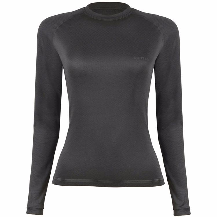 Blusa T-shirt Segunda Pele Curtlo Thermo Skin Feminina - R  129 773731b5b7b5b
