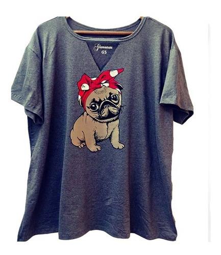 blusa t-shirts  feminina moda grande plus size