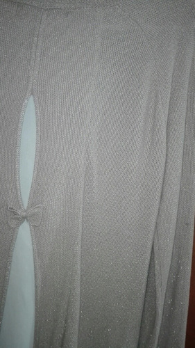 blusa tejida con brillos sfera bershka zara pull and bear