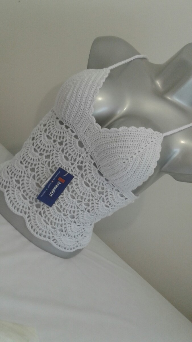 Blusa Tejida Crochet 63000 En Mercado Libre