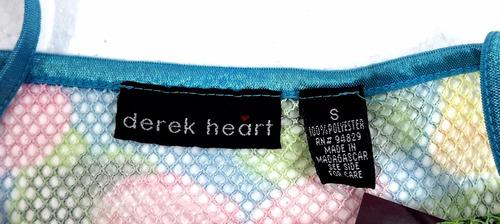 blusa tela tipo red derek heart - fashionella - s t9y5 t9y4