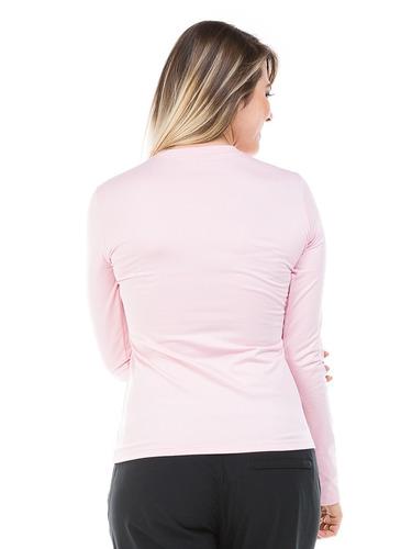 blusa térmica feminina para frio e inverno com fpu50+