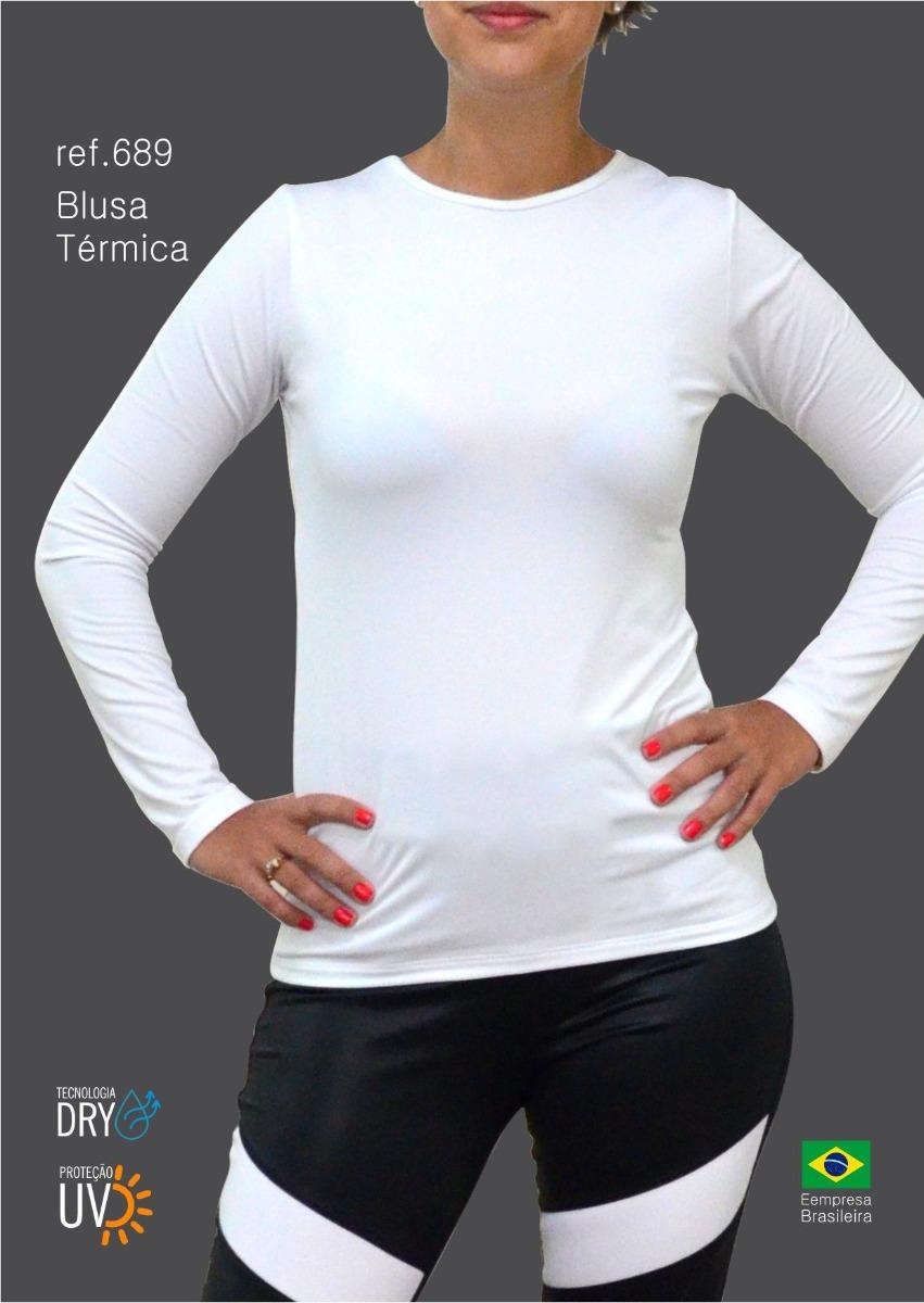 blusa termica feminina para o frio romarim. Carregando zoom. 6be2f5e1f4af9