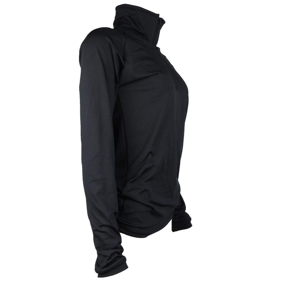 7ef2560f20 blusa térmica feminina segunda pele meio zíper thermo premiu. Carregando  zoom.