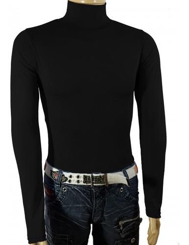 blusa térmica segunda pele proteção uv manga longa poliéster
