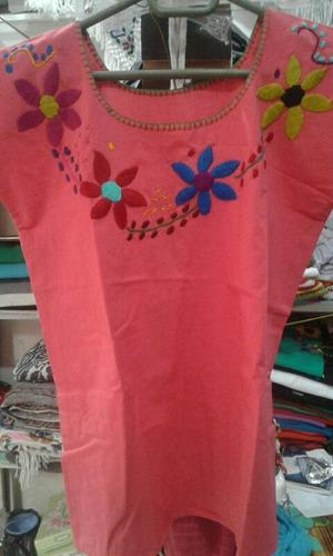 blusa tipica bordada a mano diferentes colores y diseños