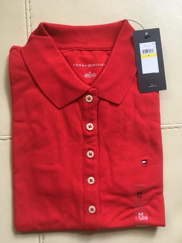 blusa tipo polo tommy hilfiger, nueva, original, tall m