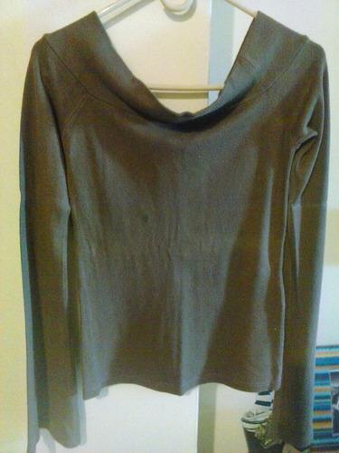 blusa tipo sweater manga larga de dama