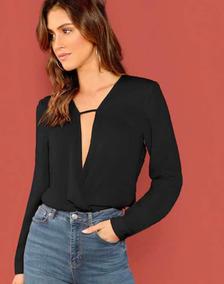 bdc1832e63a9 Blusas De Escote Profundo - Blusas de Mujer en Mercado Libre México