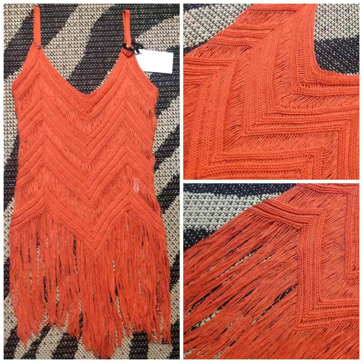 a67734d545 blusa tricô fios laranja tendência verão última moda. Carregando zoom.