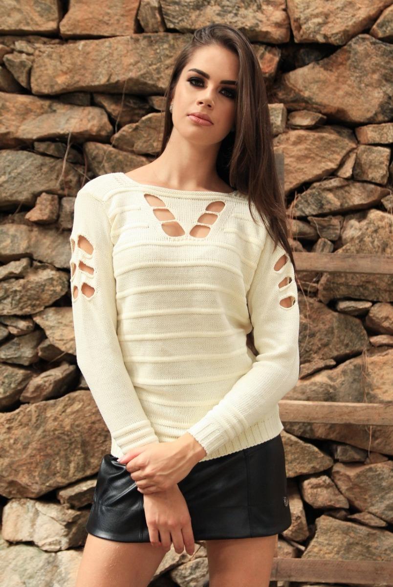7b655ef4b2 blusa tricot coleção outono inverno 2018 moda blog instagram. Carregando  zoom.