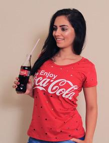 344f9eb808 Blusa Tshirt Feminina Coca Cola Tam M (ùltima Unidade)