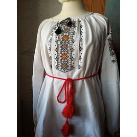 Blusa Ucraniana Original Vishivanka Y Pañuelo