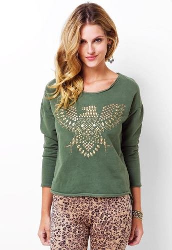 blusa verda - canal
