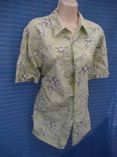 blusa verde old navy talla m