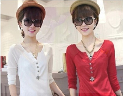 blusa vermelha de cetim fake