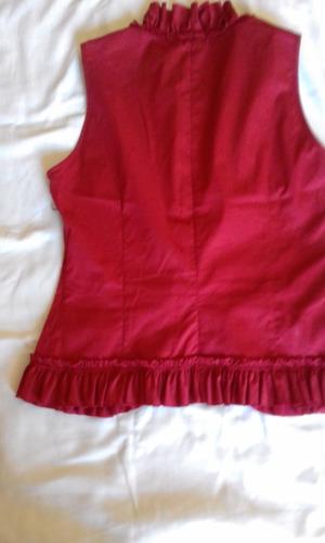 blusa verão vermelha