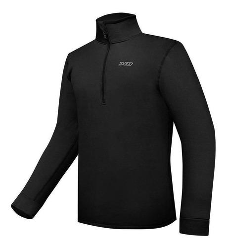 blusa x11 climate 3 térmica preto frio lançamento motoqueiro