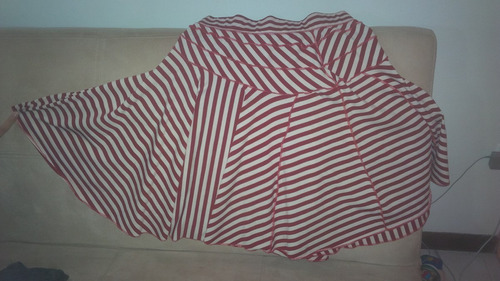 blusa y falda talla g (nonstop)