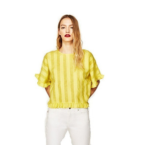 3c6997639 Blusa Zara - Blusas de Mujer Corta en Mercado Libre Argentina